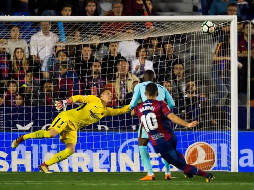 Леванте — Барселона — 5:4. Видео голов и обзор матча