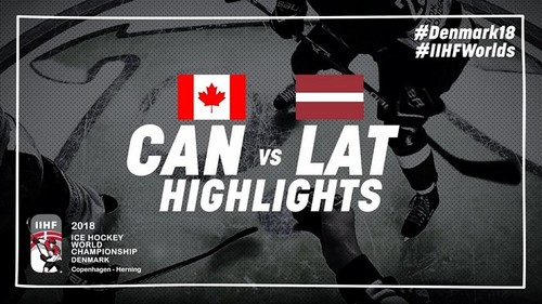 ЧМ-2018. Канада — Латвия — 2:1. Видео голов и обзор матча
