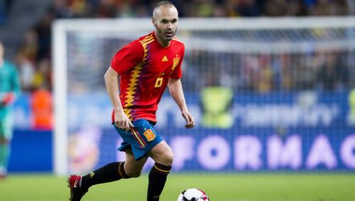 Иньеста завершит карьеру в сборной Испании после ЧМ-2018