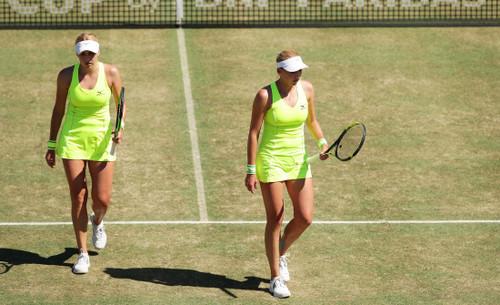 Надежда Киченок победила сестру в матче парного разряда в Риме