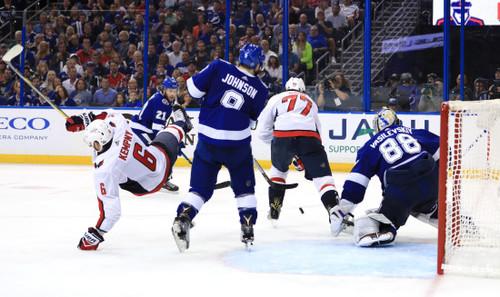 НХЛ. Вашингтон рассчитывает на седьмой матч в серии с Тампой