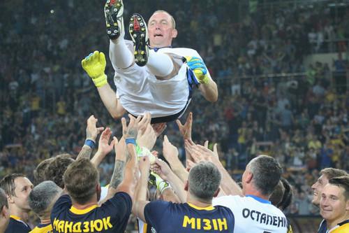 Прощальный матч Горяинова собрал 22 тысячи зрителей