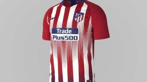 Атлетико презентовал форму на новый сезон