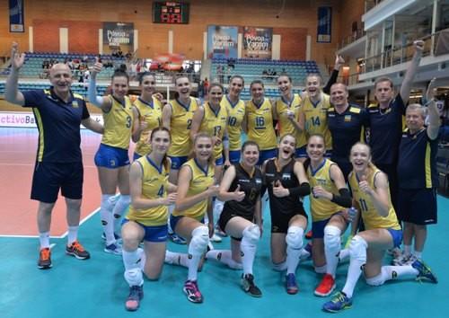 Женская сборная Украины одержала первую победу в Золотой Евролиге