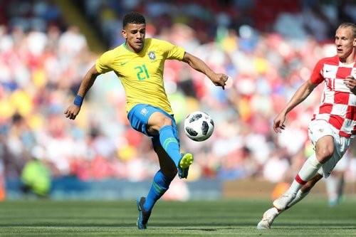 Тайсон и Фред помогли сборной Бразилии победить Хорватию