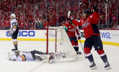 НХЛ. Вашингтон разгромил Вегас. До Кубка Стэнли осталась одна победа
