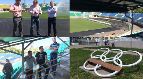Ворскла проводит обновление стадиона под матчи Лиги Европы
