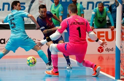 Интер Мовистар выиграл второй финальный матч у Барселоны Ласса