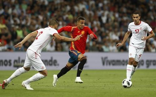 Испания минимально обыграла сборную Туниса