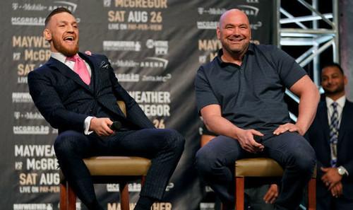 Президент UFC обсудит с Конором Макгрегором будущее