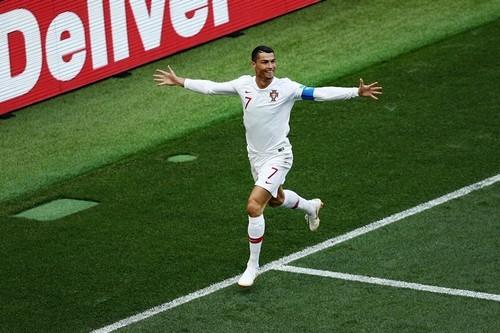 Криштиану Роналду - лучший игрок матча Португалия - Марокко