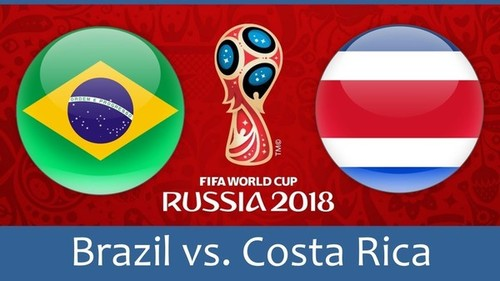 Где смотреть онлайн матч чемпионата мира Бразилия – Коста-Рика