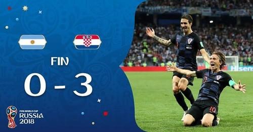 Аргентина – Хорватия. Видео гола Ракитича