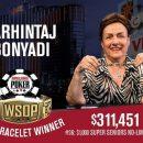 БОНИАДИ – первая женщина, которая выиграла турнир на WSOP 2018
