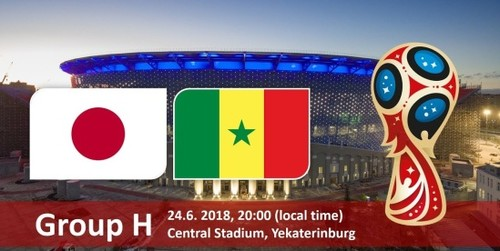 Где смотреть матч чемпионата мира Япония — Сенегал