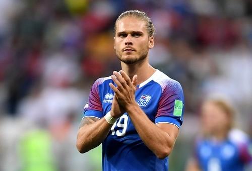 Исландский игрок прославился на весь мир после матча с Аргентиной