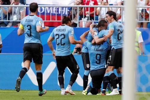 Уругвай – Россия. Видео гола Лаксальта