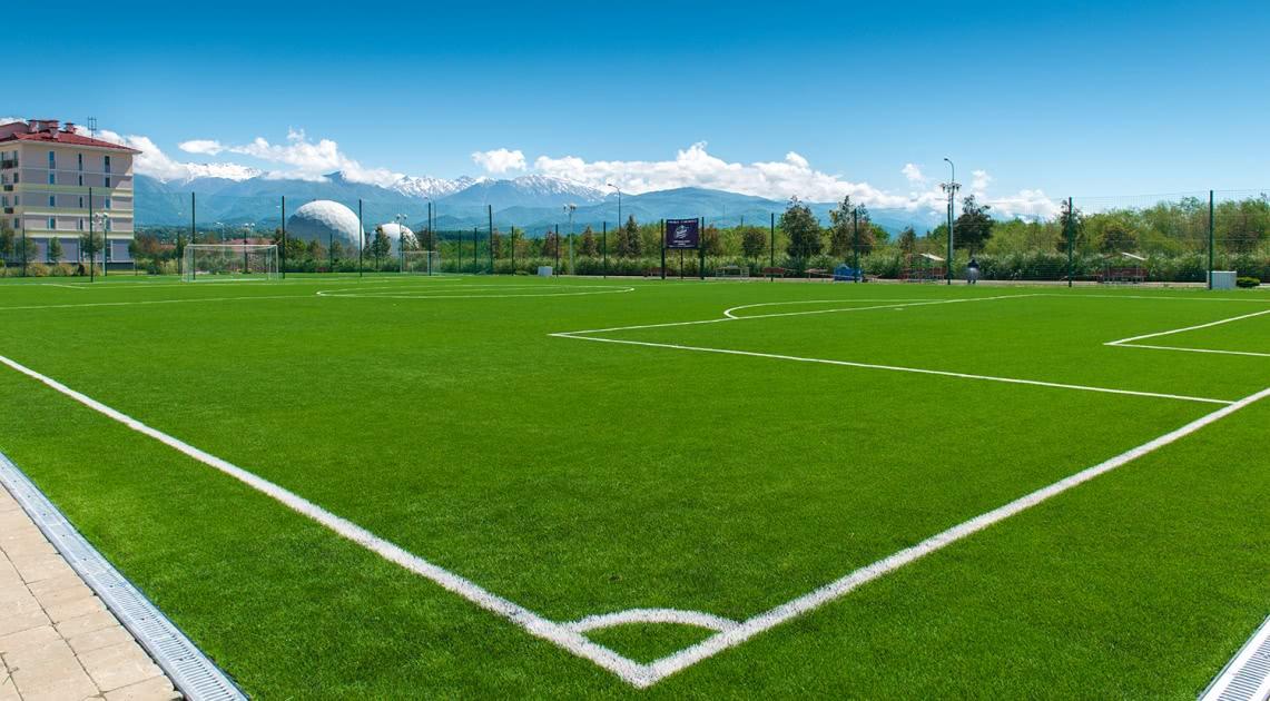 Лучшие футбольные поля для тренировок чемпионов