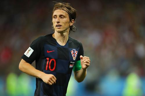 МОДРИЧ: «Для Хорватии стало сюрпризом, что Россия попала в 1/4 финала»