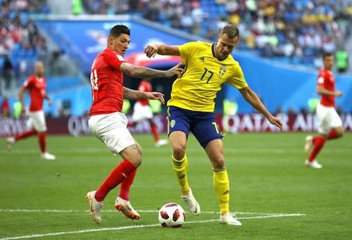 Швеция – Швейцария. Видео голов и обзор матча (обновляется)