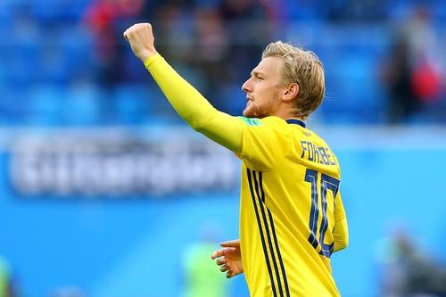 Форсберг – игрок матча Швеция – Швейцария