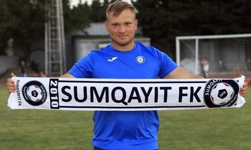 Украинский тренер будет работать в азербайджанском клубе Сумгайыт