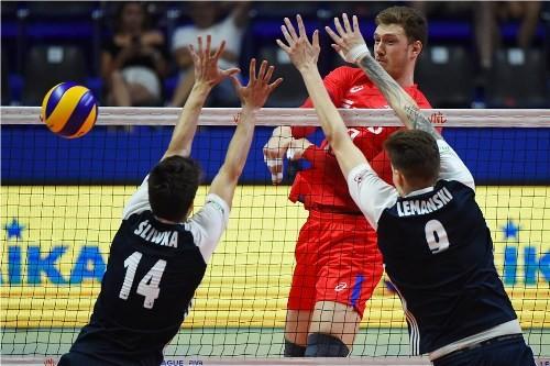 Финал шести мужской Лиги Наций стартовал во французском Лилле