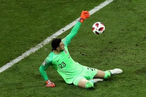 Даниэль Субашич не совершил ни одного сейва в матче с Англией