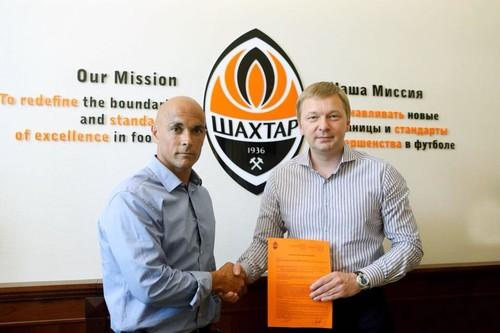 Шахтер объявил о назначении Карраско главным тренером команды U-19