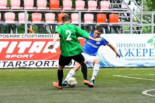 Завершився груповий етап першого чемпіонату України з міні-футболу