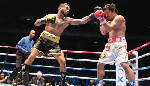 МАТИССЕ: «В лице Пакьяо я проиграл легенде мирового бокса»