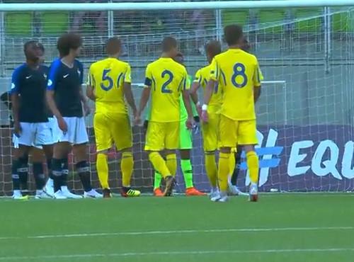 Франция U19 – Украина U19 – 1:2. Видео голов и обзор матча