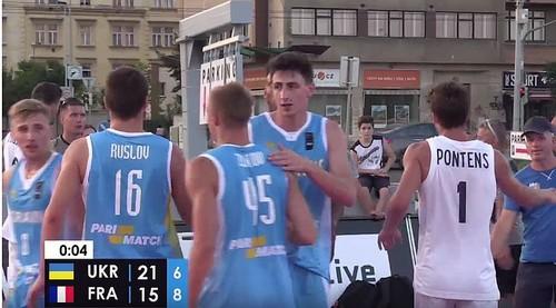 Збірна України перемогла на етапі Nations League 3×3