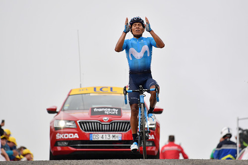 Тур де Франс. Победа Кинтаны, Томас упрочил лидерство