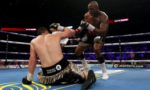 Уайт победил Паркера по очкам