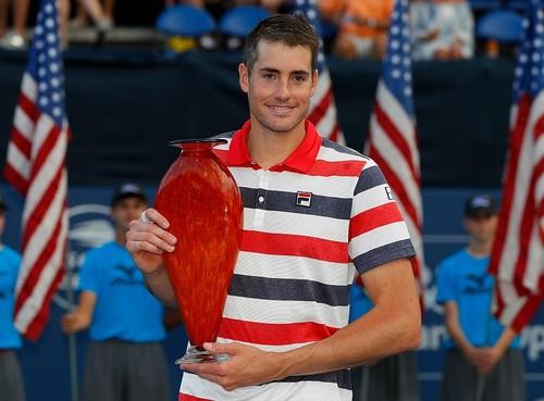 Изнер выиграл турнир в Атланте
