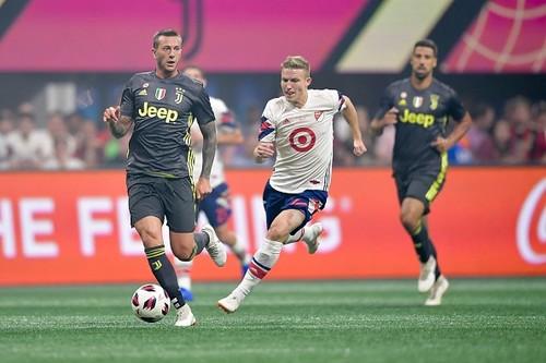 Ювентус по пенальти обыграл сборную MLS в спарринге