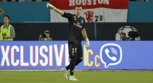 Marca: в Реале довольны работой Лунина