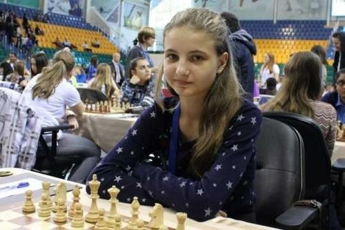 Каміла Грищенко — чемпіонка Європи зі швидких шахів