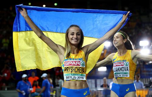 Наталія ПРИЩЕПА: «Дуже зраділа, що на п'єдесталі буде дві українки»