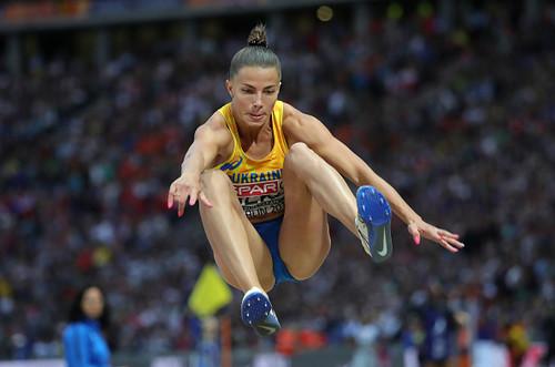 Украинка Бех завоевала серебро в прыжках в длину на чемпионате Европы