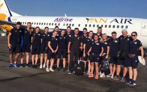 Жіноча збірна України U-16 вирушила на чемпіонат Європи