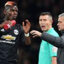 МЮ отрицает ссору между Погба и Моуриньо