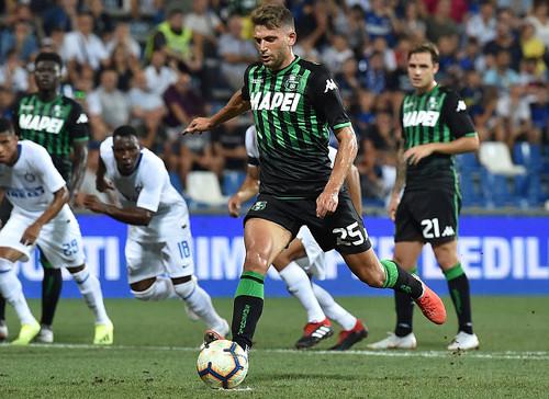 Интер проиграл Сассуоло в первом туре Серии А