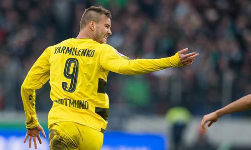 Гол Ярмоленко Аугсбургу вошел в 10-ку лучших голов Бундеслиги