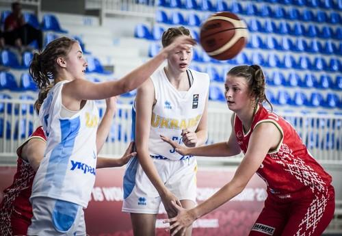 Жіноча збірна України U-16 перемогла господарок чемпіонату Європи