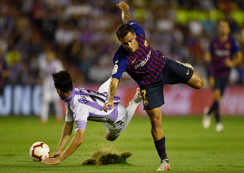 Барселона в непростом матче обыграла Реал Вальядолид