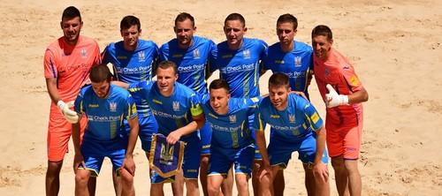 Пляжный футбол. Украина узнала соперников в Суперфинале Евролиги