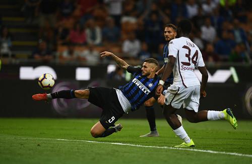 Интер не удержал победу над Торино, фиалки разгромили Кьево