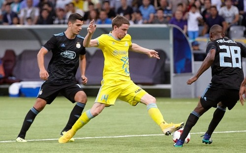 Астана Григорчука бьется за выход в группу Лиги Европы (обновляется)